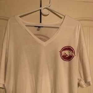 Tops - Arkansas Razorback Vneck T-shirt